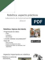 Robótica Aspectos Practicos