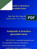 Antigenele Si Structura Aparatului Imun Prof. Dr. Stoica
