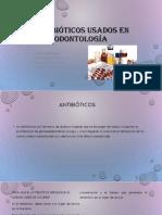 Antibióticos Expo Usados en Odontología