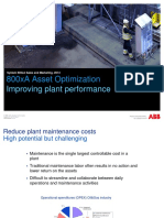 800xA Asset Optimization - Improving Plant Performance