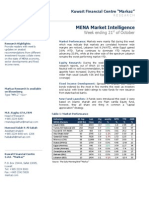 MENA Market Intelligence