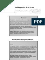 Analisis Bioquimico de La Orina Usando Tirillas Reactivas