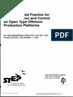 API RP 14G - 1993