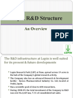 Lupin r&d Structure Roll No 3,6,11,15,17,40