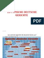 25 Typische Deutsche Gerichte
