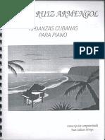 19 Danzas Cubanas Para Piano