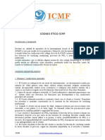 Codigo deontologico ICMF