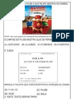 ATIVIDADES TIP0 SARESP -2º ANO-CONTINUAÇÃO