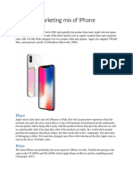 Marketing mix of IPhone.docx