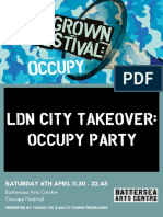 BAC Occupy Party 2019 Programme