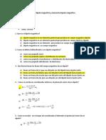 Preguntas  exposición de dipolo magnético y momento  dipolar magnético.docx