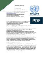 Somalia marks International Day for Mine Awareness
