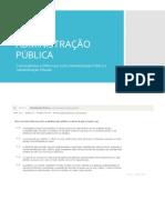 Convergências e Diferenças setor público x privado