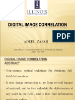Digital Image Correlation Zafar