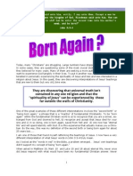 Newsletter December 2008 - Born Again