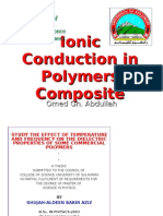 Ionic Conduction in Polymer Composite