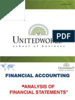 Session 9 - Ratio Analysis