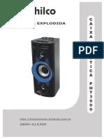Caixa+Acústica+Philco+PHT3000