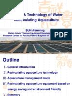Sun-Water Recirculating Aquaculture