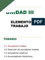Actuadores Unidad III 2005 - 1