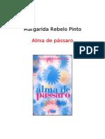 Margarida Rebelo Pinto - Alma de Pássaro