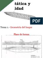 Tema 1 Geometria Del Buque