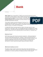 37983800 Swot of Hdfc Bank