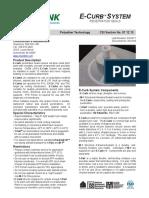 E-Curb Tech Data Sheet