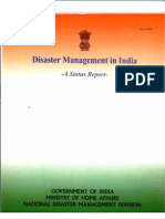 Disaster Management India Status Report August 2004