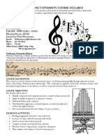 MUS 108 Music Appreciation Syllabus FA18