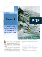 chap 7 aquatic science - chemical and physical features of seawater and the world ocean