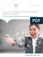 Changes in the Investment Banking Industry