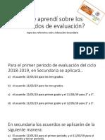 Cuestionario Sobre Acuerdos de Evaluación.