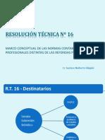 Resumen Resolucion Tecnicoa N 16 (Power Point)