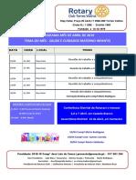 Programa Mês de Abril 2019