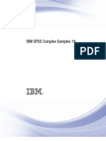 IBM SPSS Complex Samples 19