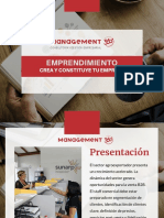 Brochure Emprendimiento - Management 360
