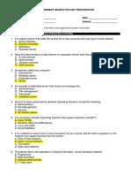 Assessment Review 4thSem Grade XI ACIT CBT