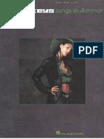 Book Alicia Keys Songs in a Minor