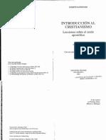 Ratzinger_INTRODUCCION AL CRISTIANISMO_introduccion.pdf