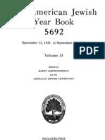 AJY Vol 33 1931 1932