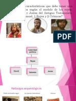 Características que debería tener una autoridad política según el modelo bíblico de los reyes David, Salomon y Josias  del Antiguo testamento