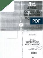 Henri Lefebvre - A vida cotidiana no mundo moderno.pdf