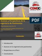 Avances y Perspectivas de la Ingenier�a de Pavimentos V.2