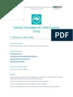 TECNM /Instituto Tecnologico de Tuxtla Gutierrez ITTG