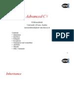 Advanced C# Concepts