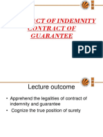 L 16 Contract of Indemnity and Guarantee 1