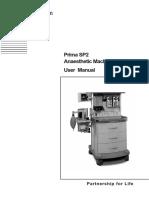 Penlon Prima SP2 Anaesthetic Machine - User manual.pdf