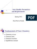 Topic 4 - Water Quality Parameters and Requirements.pptx