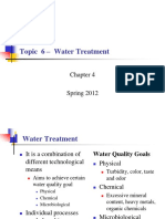 Topic 6 - Water Treatment.pptx